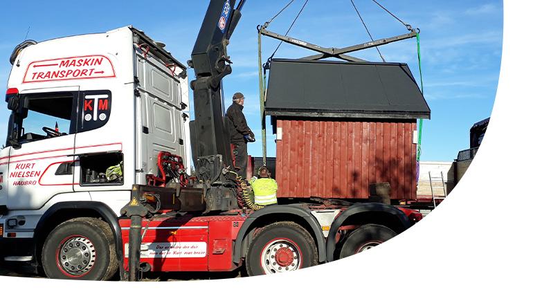 maskintransport - Specialtransport af maskiner